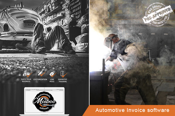 Automotive Invoice software