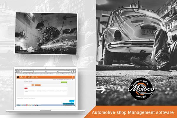 Automotive shop Management software