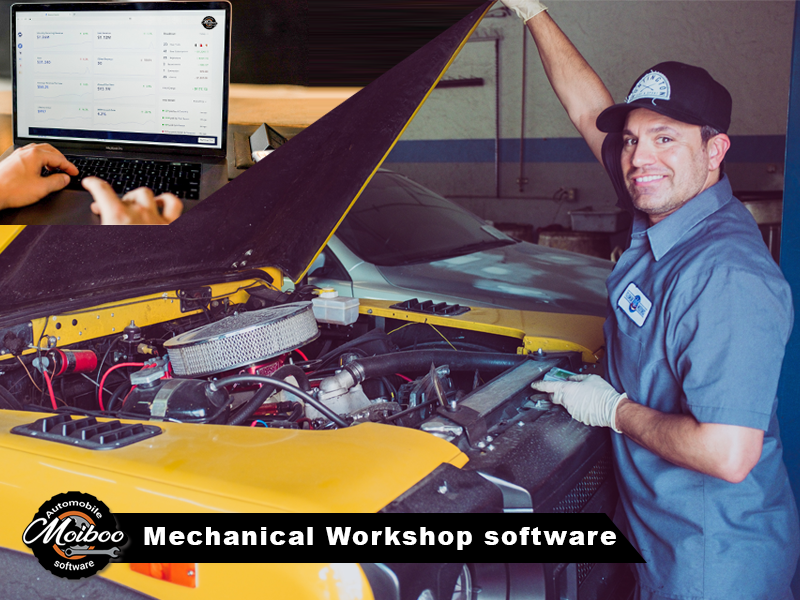 Mechanical workshop software