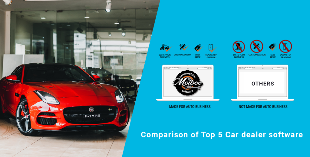 Comparison of Top 5 Car dealer software