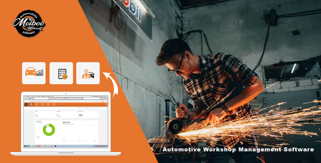 Automotive workshop management software