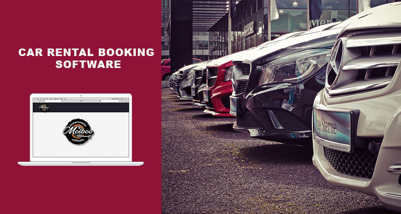 Car rental booking software