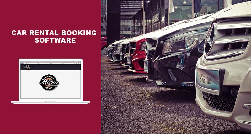 Car rental booking software