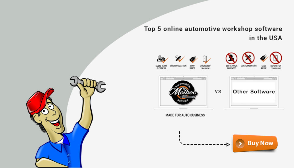 Top 5 online automotive workshop software in the USA