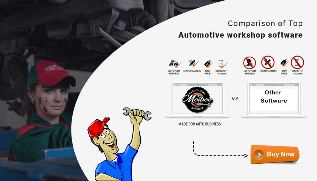 comparison of automotive workshop software