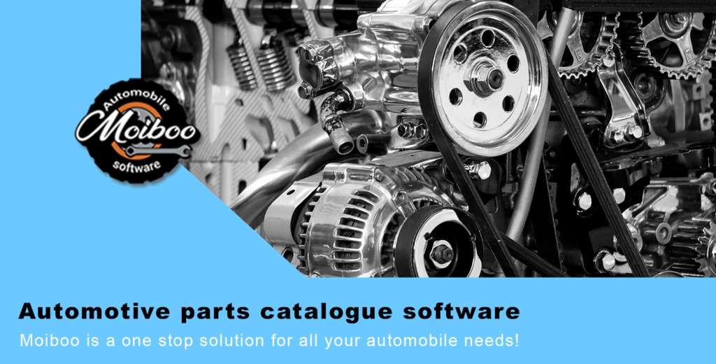 Automotive parts catalogue software