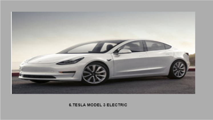 Tesla Model 3 Electric