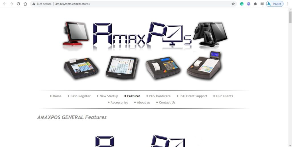 Amaxpos System Services