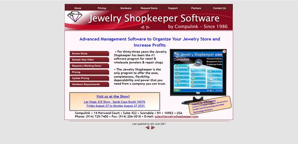 Jewellery Shopkeeper Software